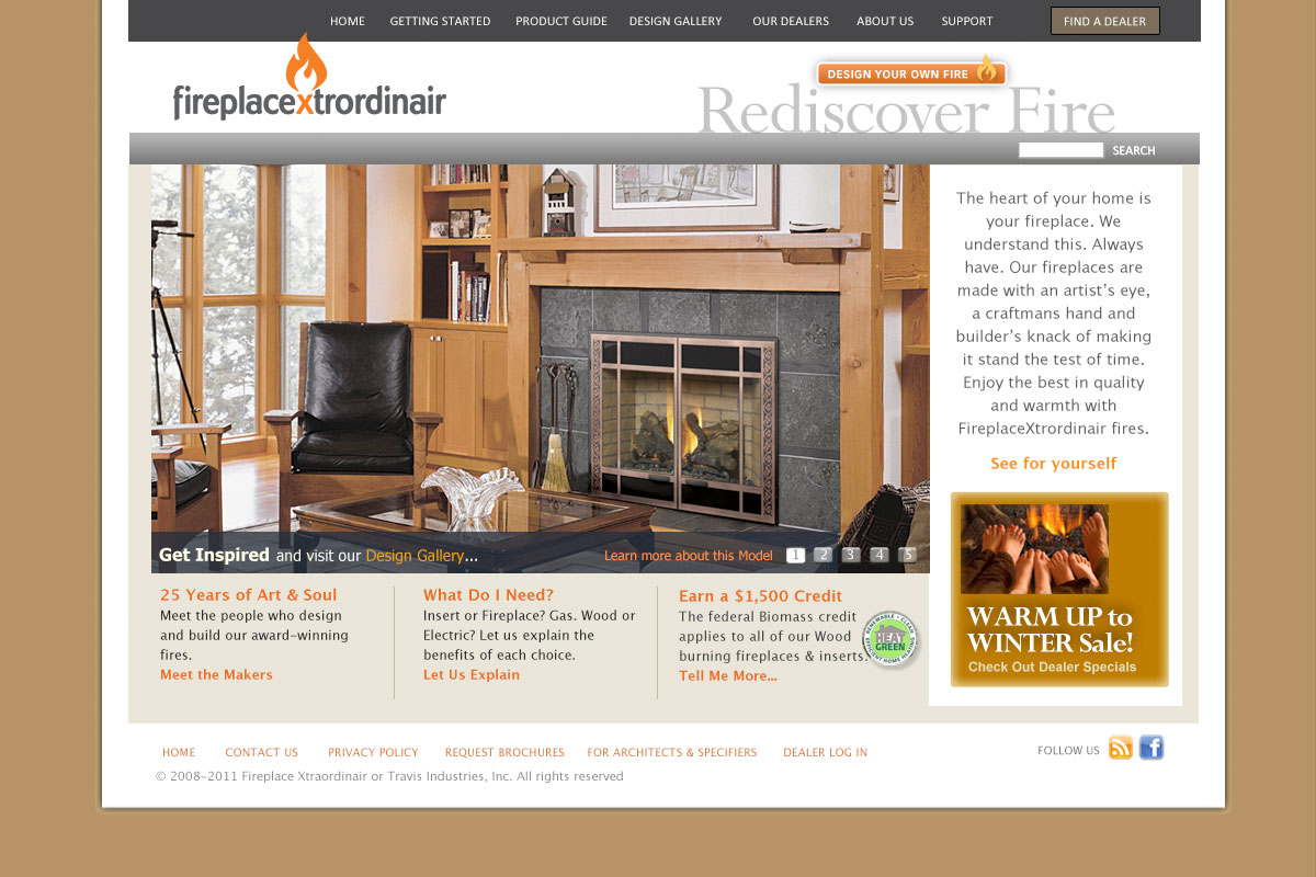FireplaceXtrordinair Home Page